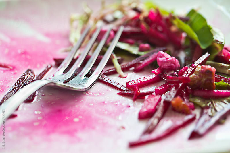 Eat Beet Salad by Jill Chen for Stocksy United