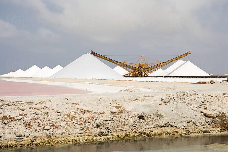 Salt Flats Storage in Bonaire by Sean Locke for Stocksy United