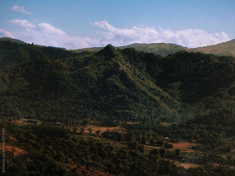 Green Mountain in the Philippines by B. Harvey for Stocksy United