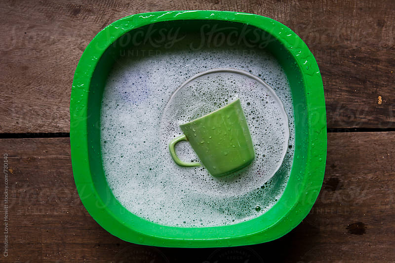 camping dishes by Christine Hewitt for Stocksy United