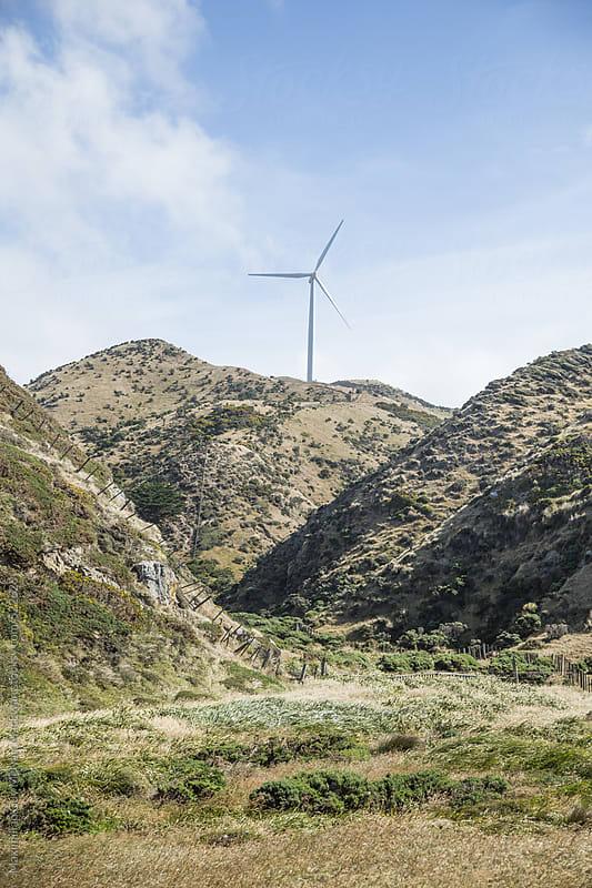 Wind Turbine by Maximilian Guy McNair MacEwan for Stocksy United