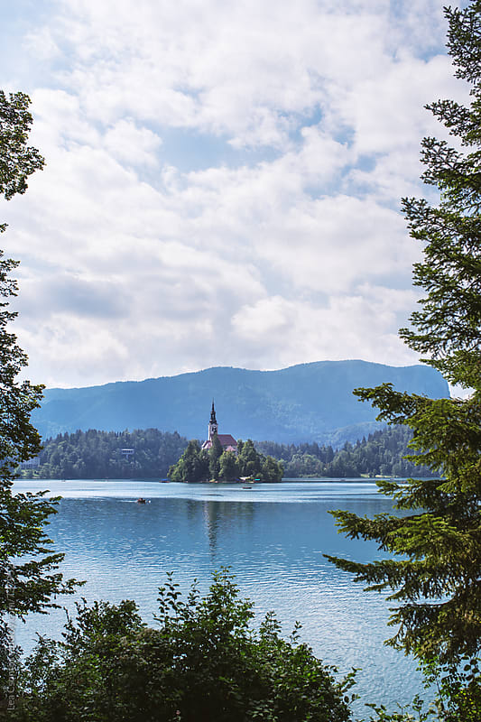 Lake Bled, Slovenia by Lea Csontos for Stocksy United