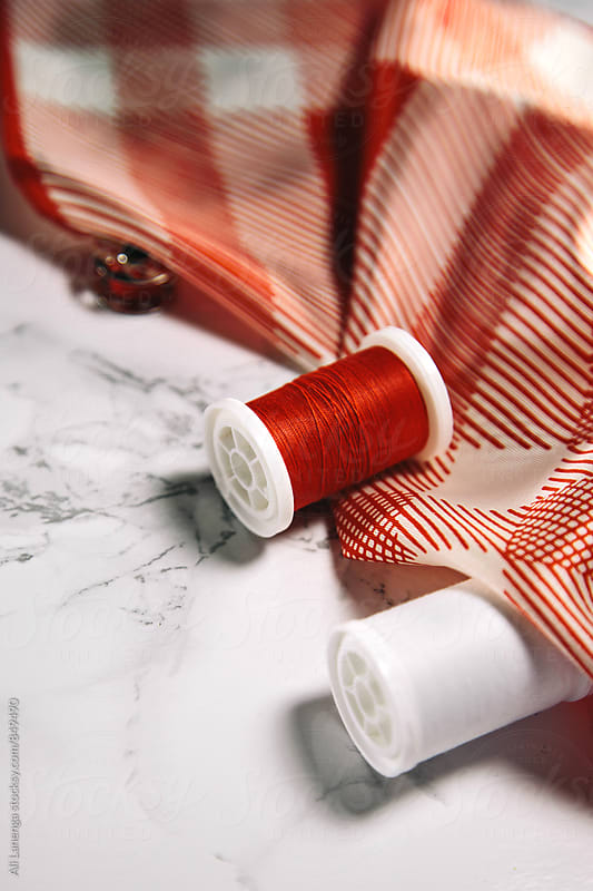 Red Thread by Ali Lanenga for Stocksy United
