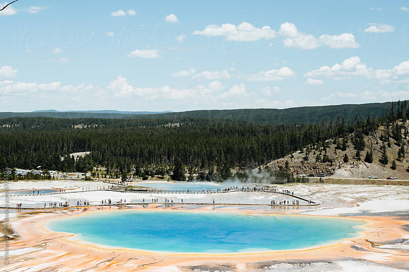 Thermal Spring in Yellowstone by Christian Gideon for Stocksy United