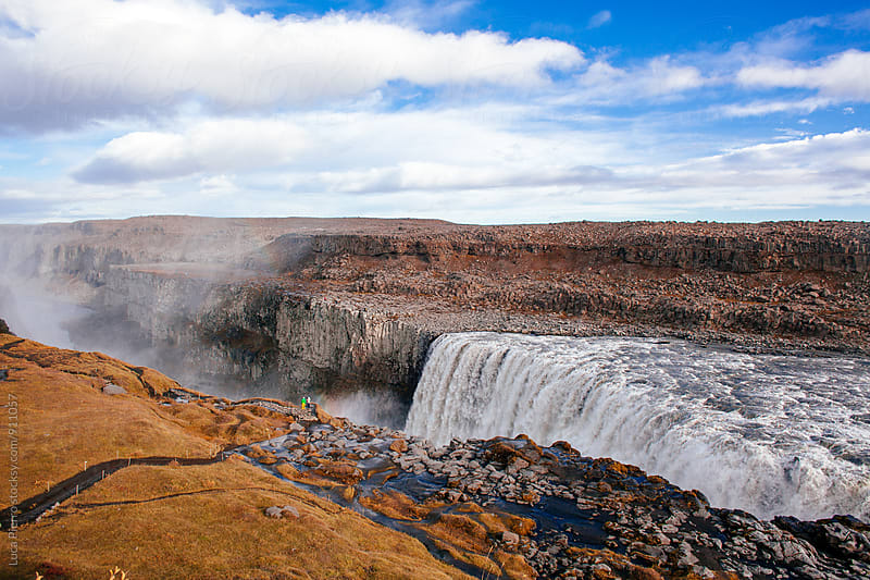 Dettifoss waterfall by Luca Pierro for Stocksy United