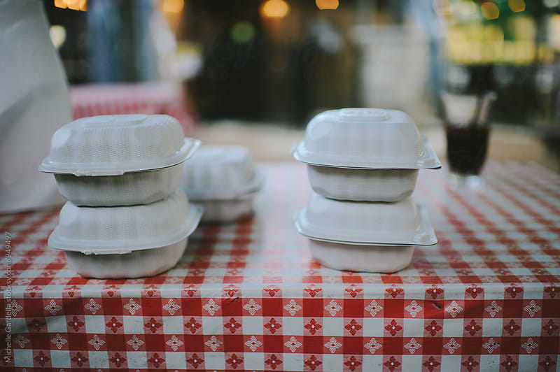 To-go containers by Michelle Gardella for Stocksy United