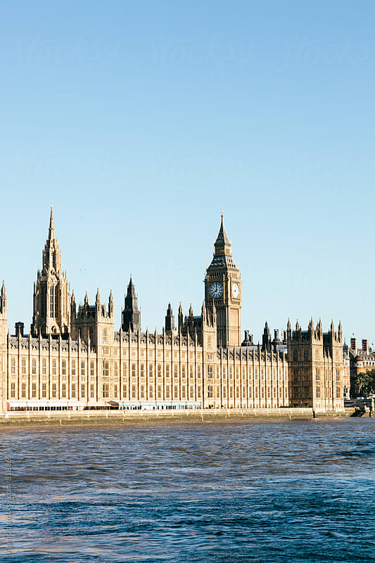 Parliament in the Morning by Agencia for Stocksy United