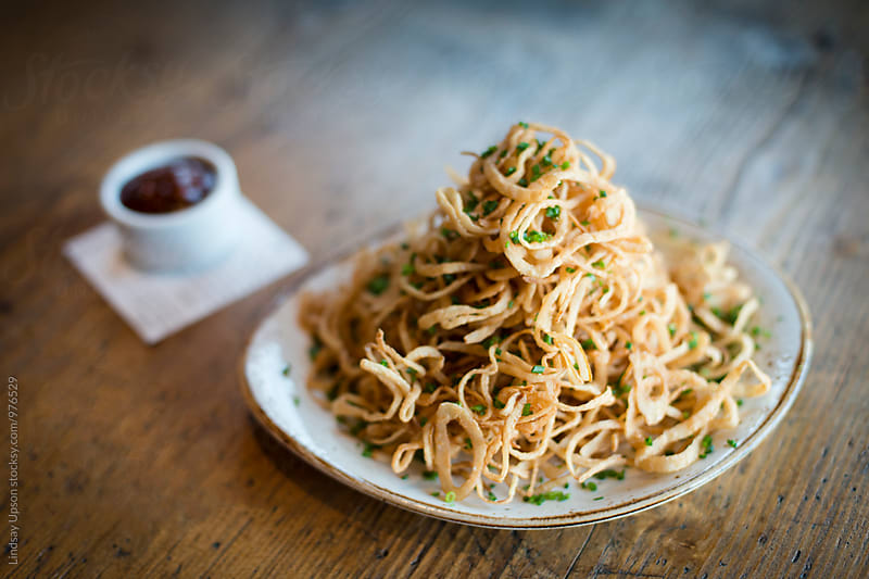 Onion Strings by Lindsay Upson for Stocksy United