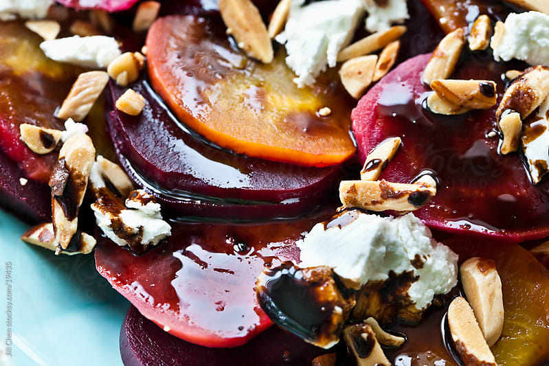 Beet Salad Closeup by Jill Chen for Stocksy United