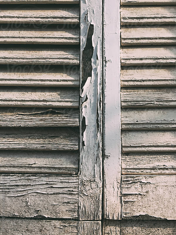 Window of an old house. by BONNINSTUDIO for Stocksy United