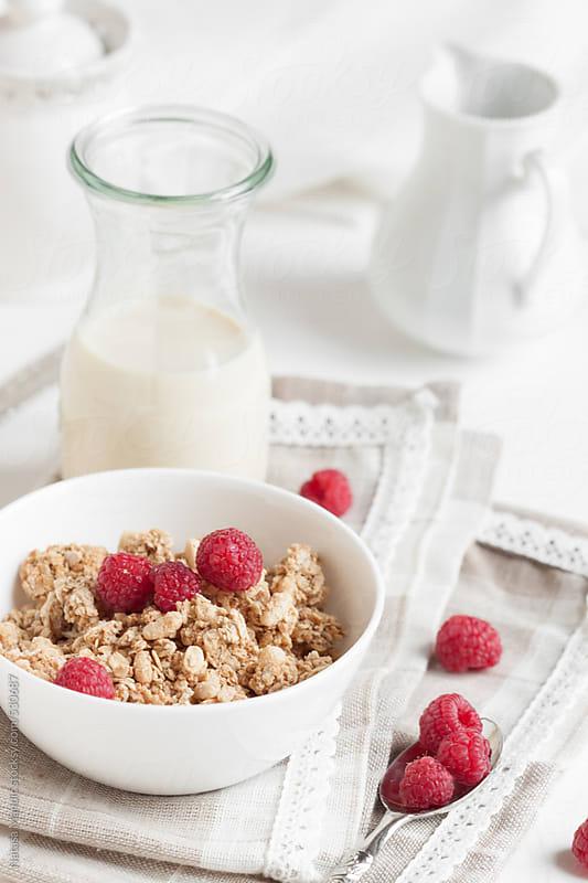 Breakfast on white by Nataša Mandić for Stocksy United