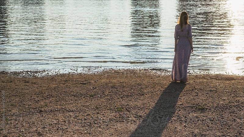 Woman by the River by Lumina for Stocksy United