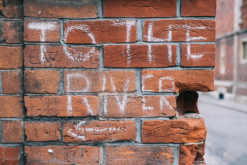 'To the river' sign by Sam Burton for Stocksy United