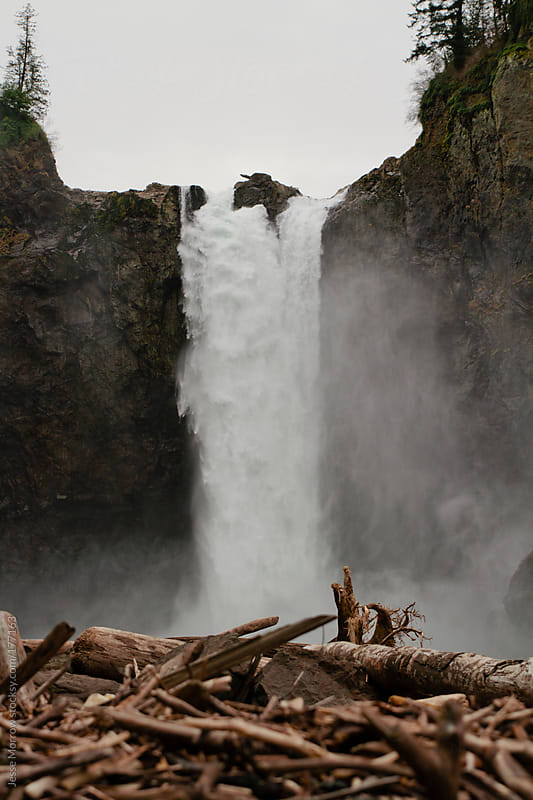 Snoqualmie Falls by Jesse Morrow for Stocksy United