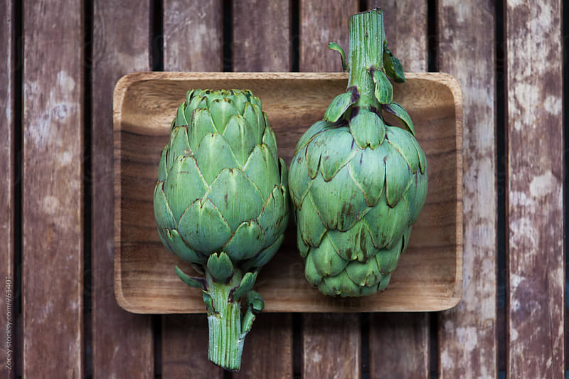 Fresh artichokes by Zocky for Stocksy United
