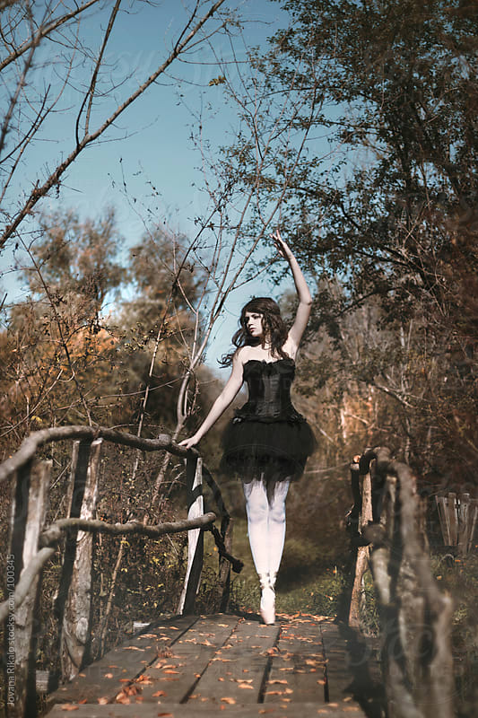 Ballet dancer in nature by Jovana Rikalo for Stocksy United