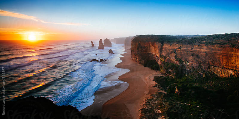 The Twelve Apostles, Australia by Robert Lang for Stocksy United