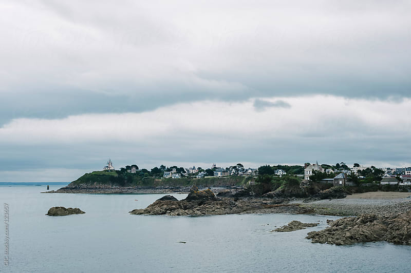 Coastline in Brittany by GIC for Stocksy United
