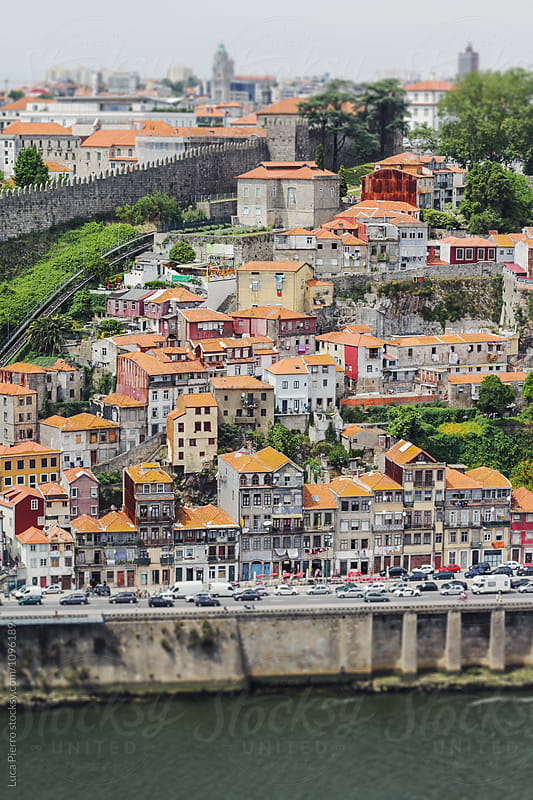 View of the Douro River and the historical Ribeira and Se District in Porto, Portugal. by Luca Pierro for Stocksy United