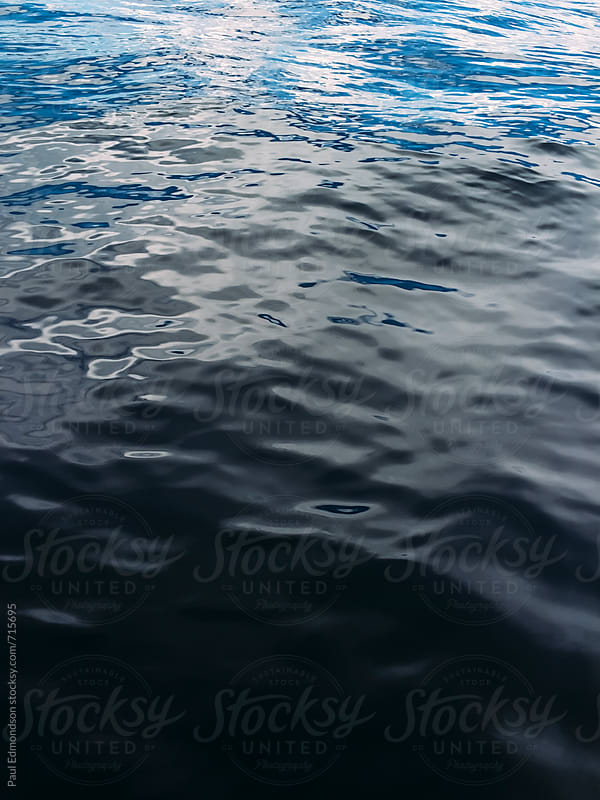 Blue waters of Lake Tahoe by Paul Edmondson for Stocksy United