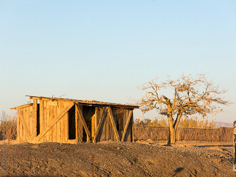 An old and forasaken wooden hut ! by Agha Waseem Ahmed for Stocksy United