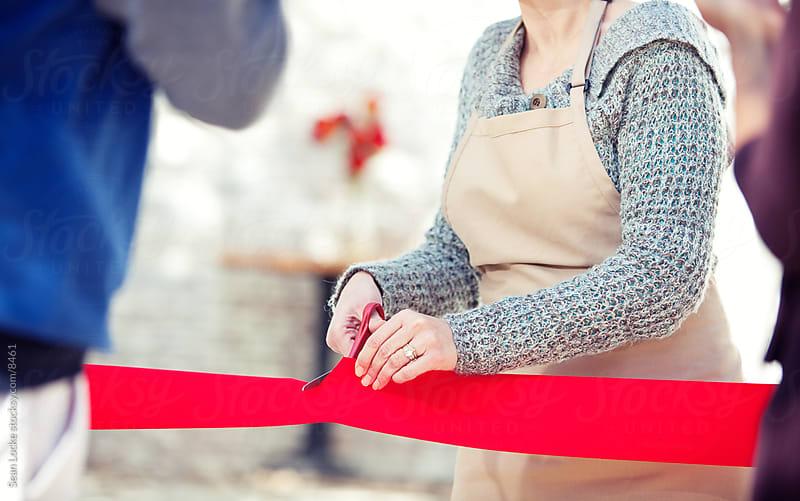 Shop: Focus on Ribbon Cutting by Sean Locke for Stocksy United