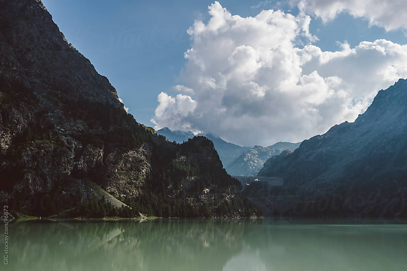 Lake in the Alps by GIC for Stocksy United