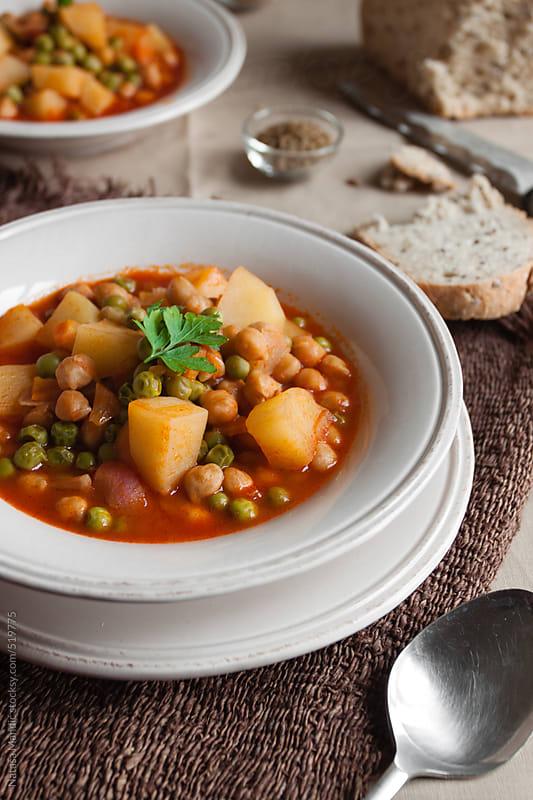 Vegetables soup by Nataša Mandić for Stocksy United