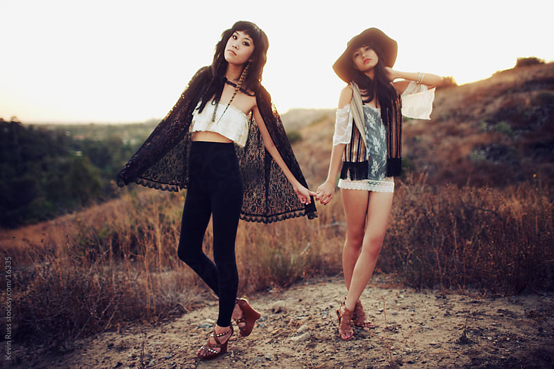 Hand Holding Fashion Women by Kevin Russ for Stocksy United