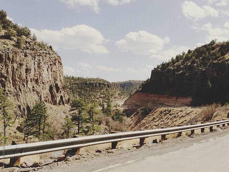 Driving on Canyon Road by Kevin Russ for Stocksy United