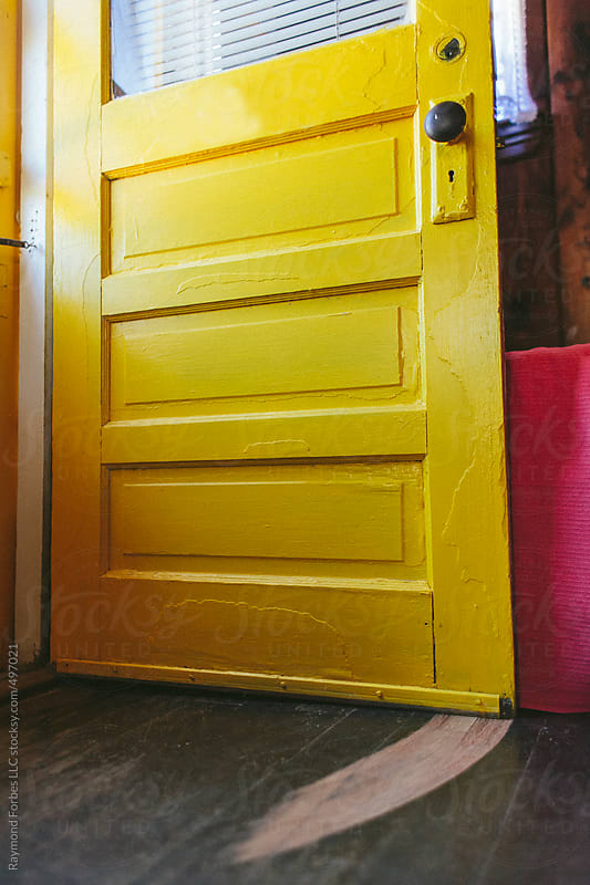 Door at Beachside Cottage by Raymond Forbes LLC for Stocksy United