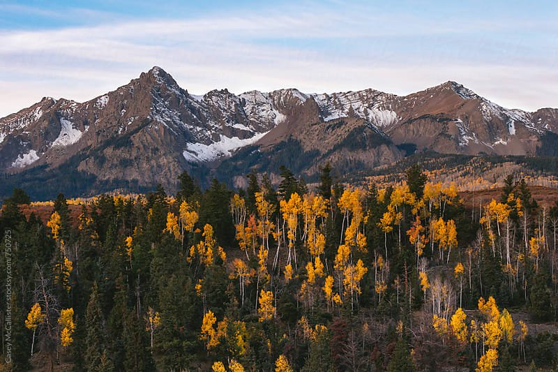 Autumn Mountains by Casey McCallister for Stocksy United