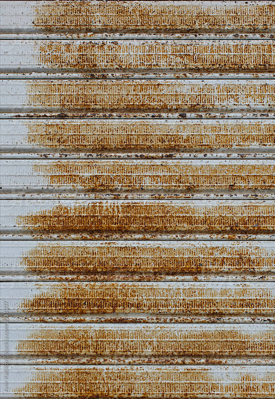 Background texture of old grunge rusty metal by Amir Kaljikovic for Stocksy United