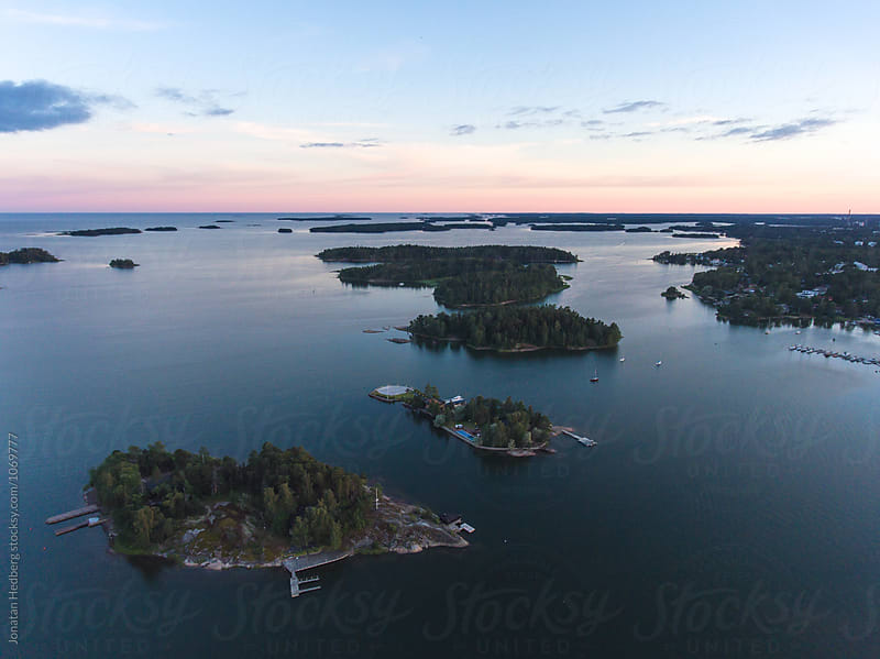 Island in the Finnish archipelago by Jonatan Hedberg for Stocksy United