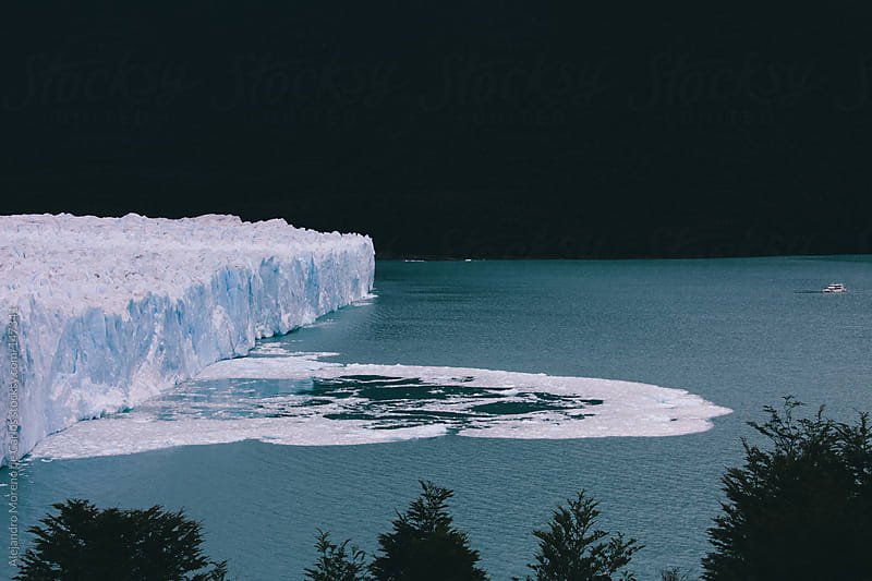 Perito Moreno glacier with ocean view by Alejandro Moreno de Carlos for Stocksy United