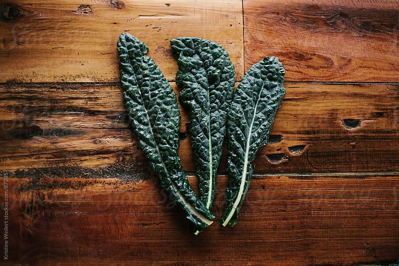 Fresh Green Kale by Kristine Weilert for Stocksy United