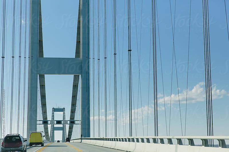Chesapeake Bay Bridge Annapolis, Maryland by Raymond Forbes LLC for Stocksy United