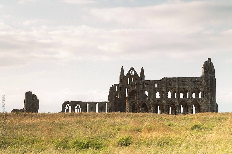 Whitby Abbey by Marilar Irastorza for Stocksy United