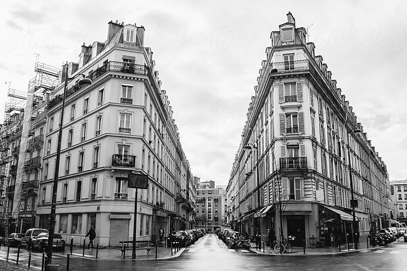 Urban scene in Paris by michela ravasio for Stocksy United