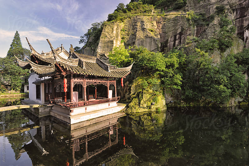 End of DongHu - East Lake (Shaoxing) by Andy Brandl for Stocksy United