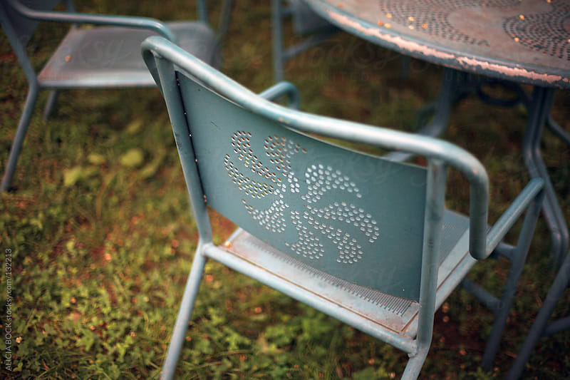 Vintage Outdoor Furniture by ALICIA BOCK for Stocksy United