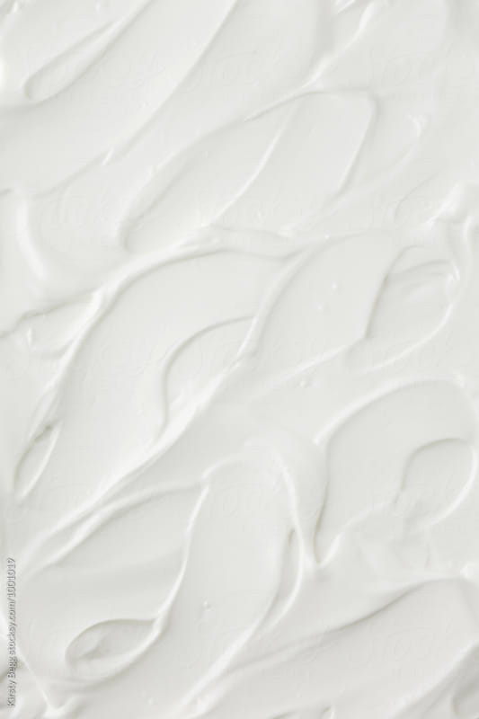 Greek yogurt swirl background by Kirsty Begg for Stocksy United