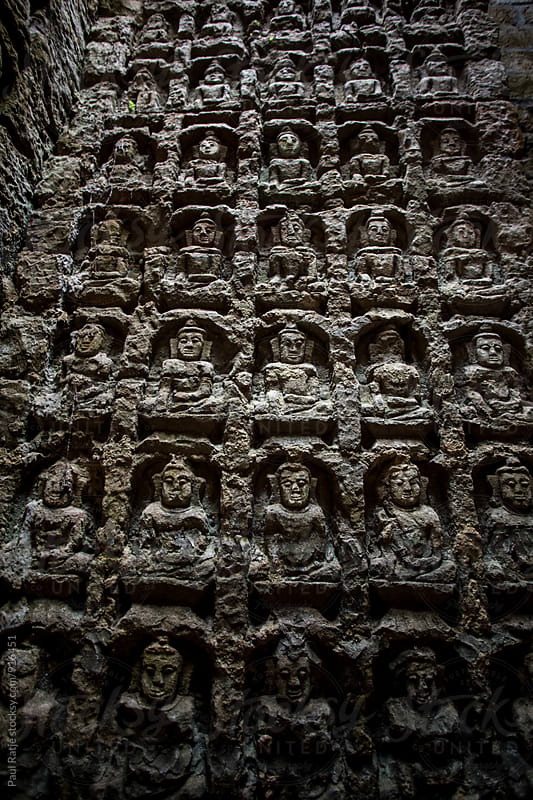 Buddhist Images in Mrauk U by Paul Ratje for Stocksy United