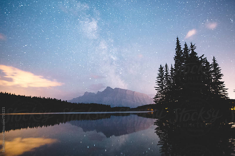 Milky Way Reflections by Sam Elkins for Stocksy United