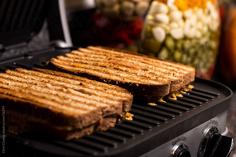Grilled cheese by Chris Chabot for Stocksy United