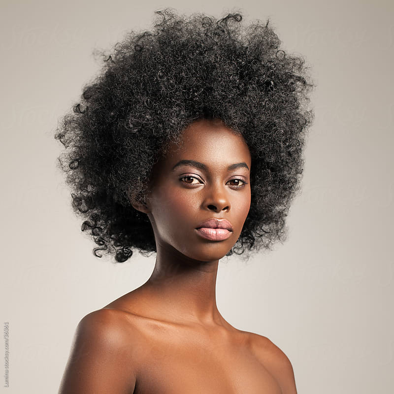 Beautiful African Woman by Lumina for Stocksy United