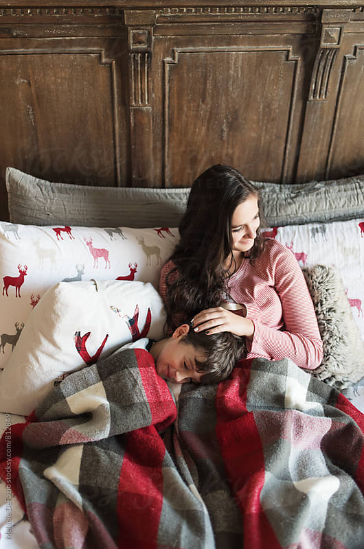 Snuggles by Melanie DeFazio for Stocksy United