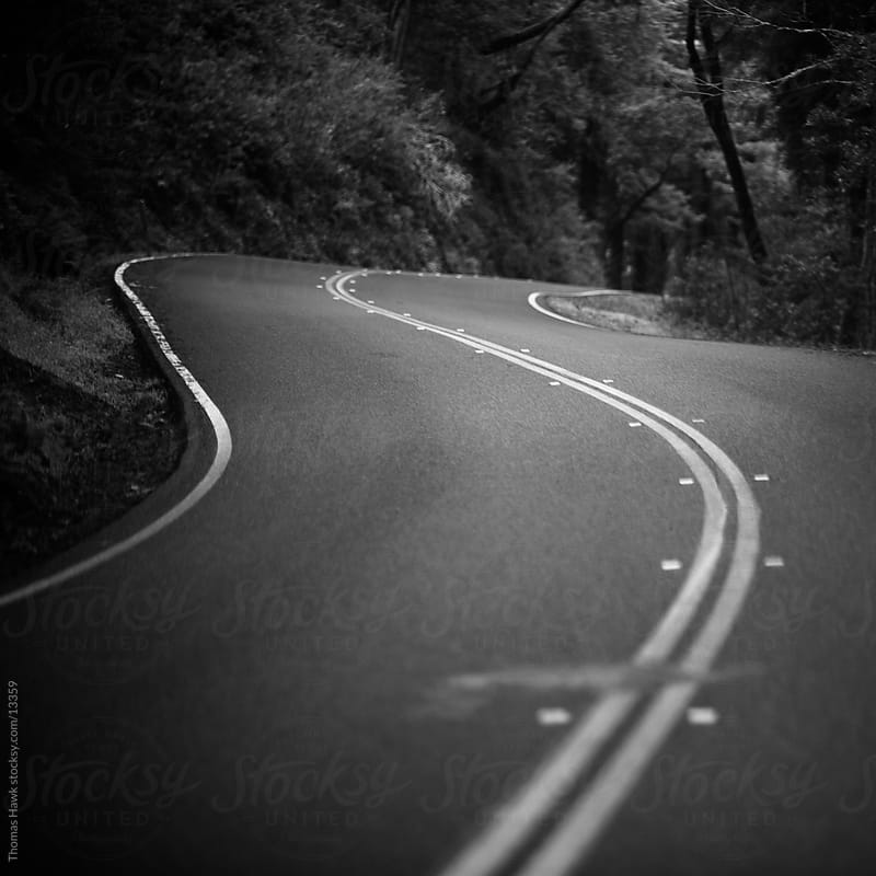 Winding Road by Thomas Hawk for Stocksy United