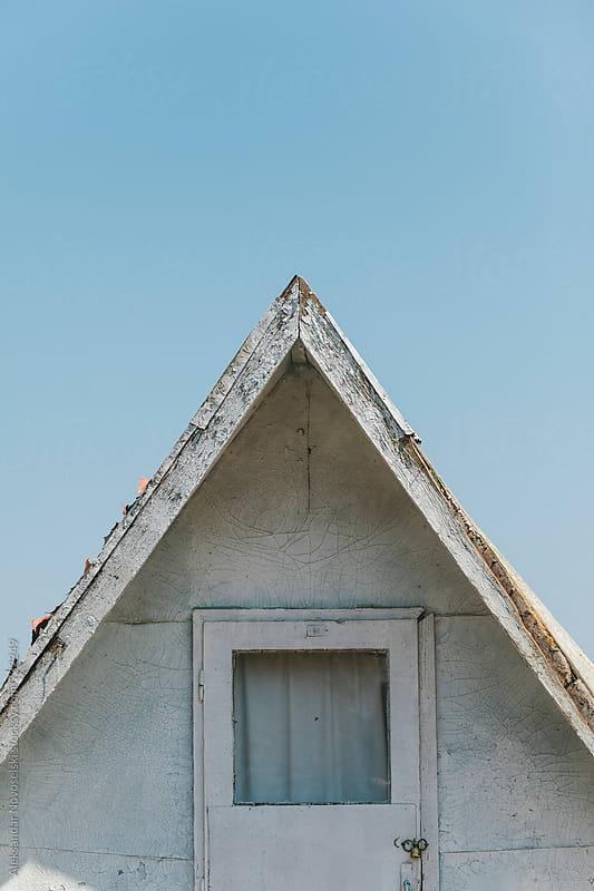 Old deserted bungalow by Aleksandar Novoselski for Stocksy United