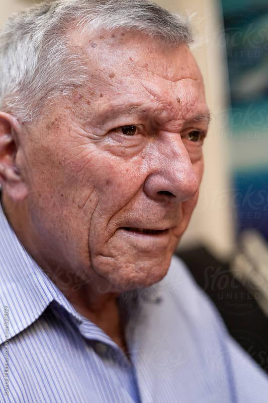 Portrait of a senior man by Jovana Milanko for Stocksy United